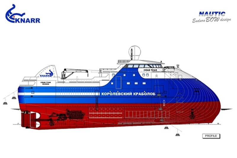 Nautic Rus to develop designs for Russian crabber fleet