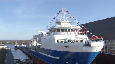 Pella yard launches latest Fest trawler