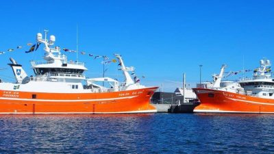 Swedish pelagic pair christened at Skagen