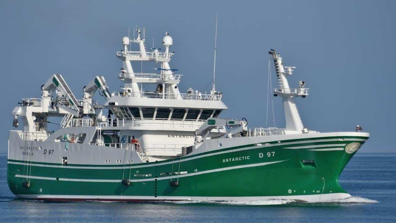 Latest Antarctic delivered to McHugh family