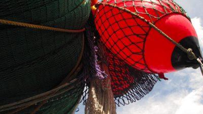 Basque fishermen protest against seine netters