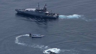 Australia apprehends foreign fishing vessels