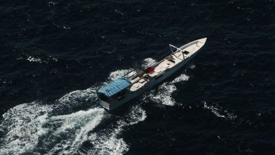 Poaching down in Australian waters, and latest arrest escorted to Darwin