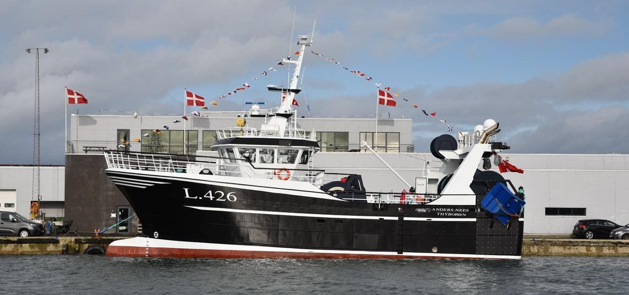Thyborøn's new Anders Nees