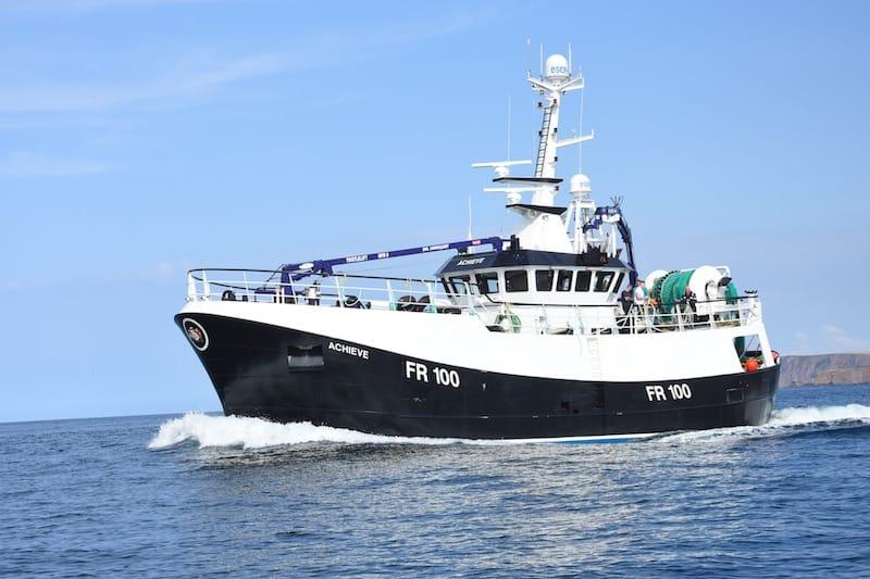 Macduff delivers new seine netter Achieve FR-100