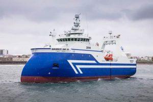 HB Grandi's fresher trawler Akurey AK-10. Image: HB Grandi - @ Fiskerforum