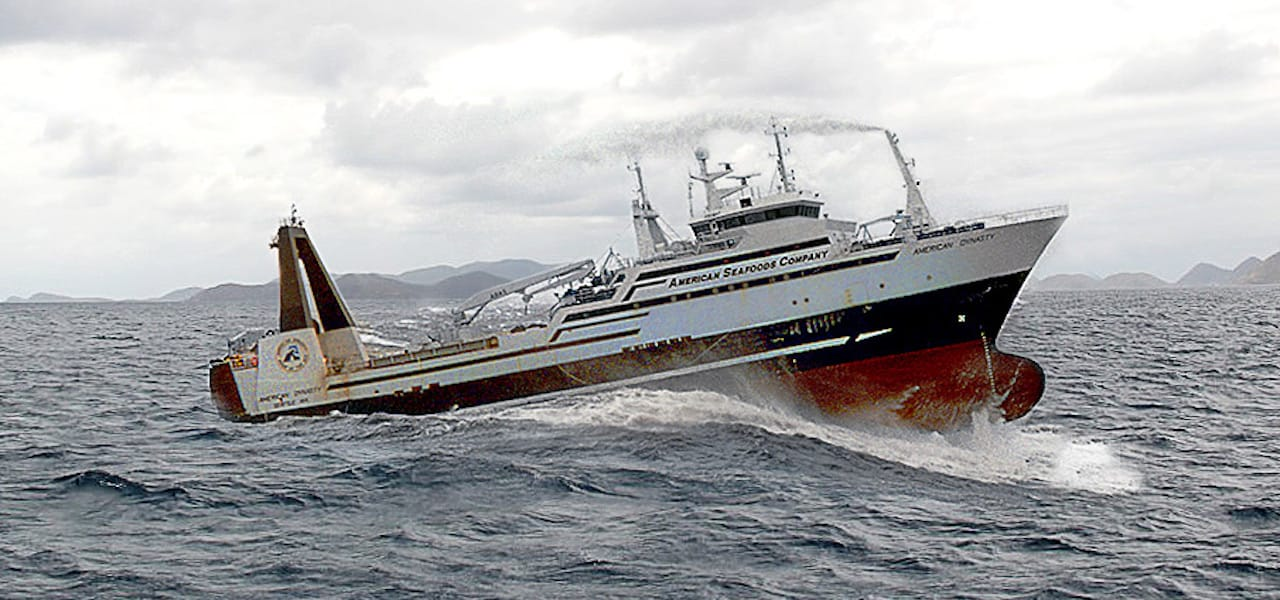 US factory trawler crew tests Covid-19 positive