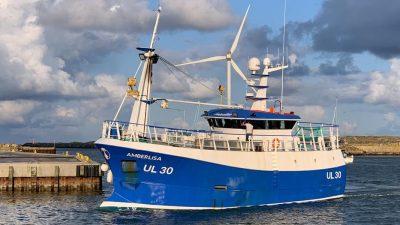 New Scottish crabber looking for luck in Denmark