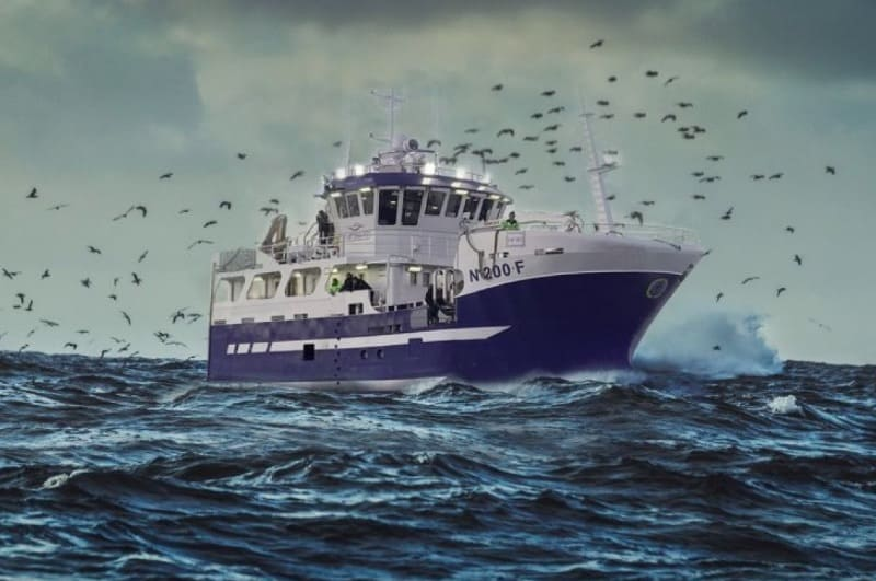 World's largest hybrid fishing boat reaches home