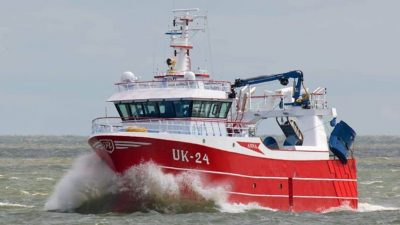 Urk skipper's new design twin-rigger