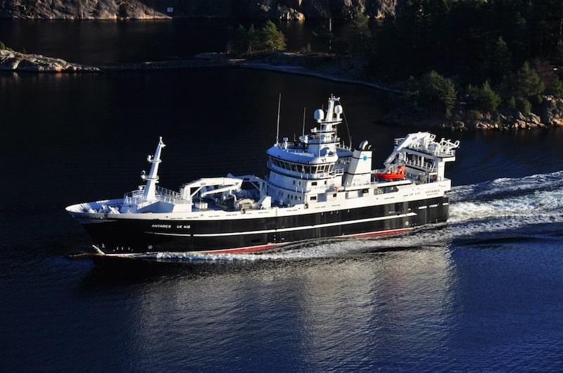 Antares takes Simek back to fishing