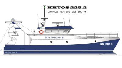 Channel trawler order for Piriou