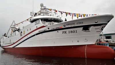 Argos Cies delivered by Nodosa Shipyard