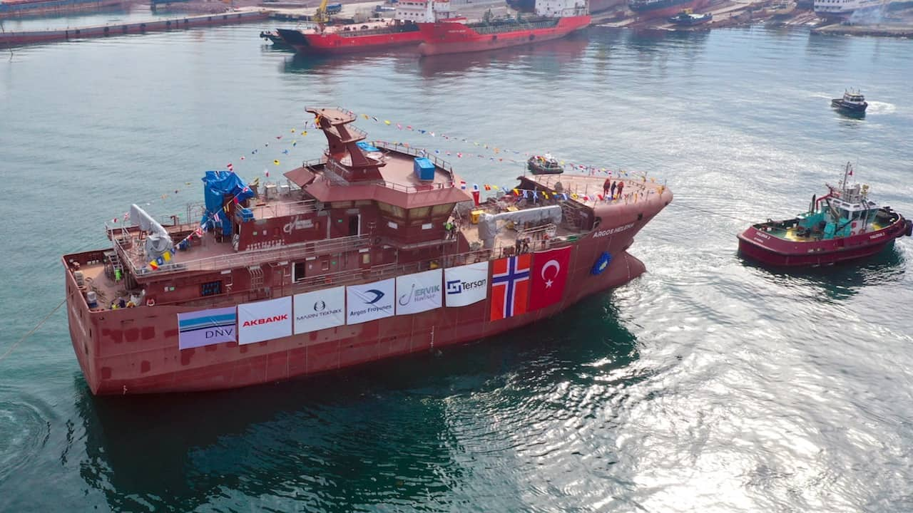Tersan launches longliner for Ervik Havfiske