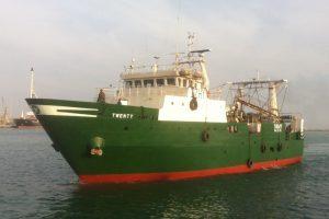 One of the trawlers identified by CFFA and other NGOs. Image from owner's website - @ Fiskerforum