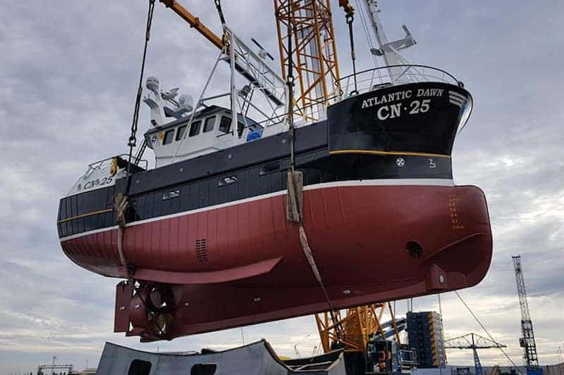 Atlantic Dawn launched at Middlesbrough