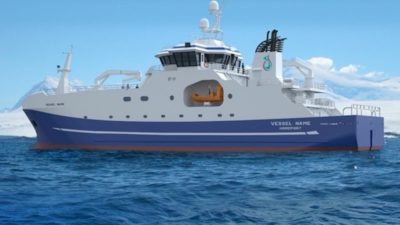 New autoliner ordered for Tasmanian company