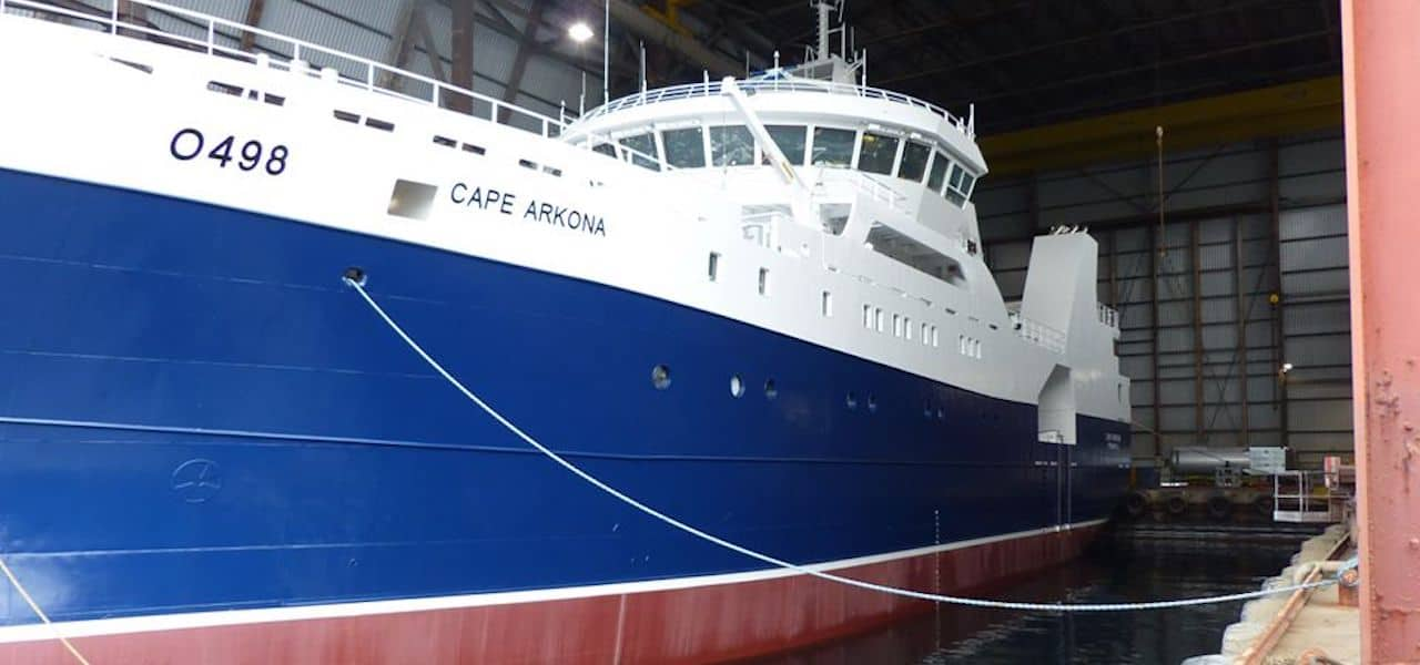 Combined longliner-potter-trawler takes shape at Måløy yard