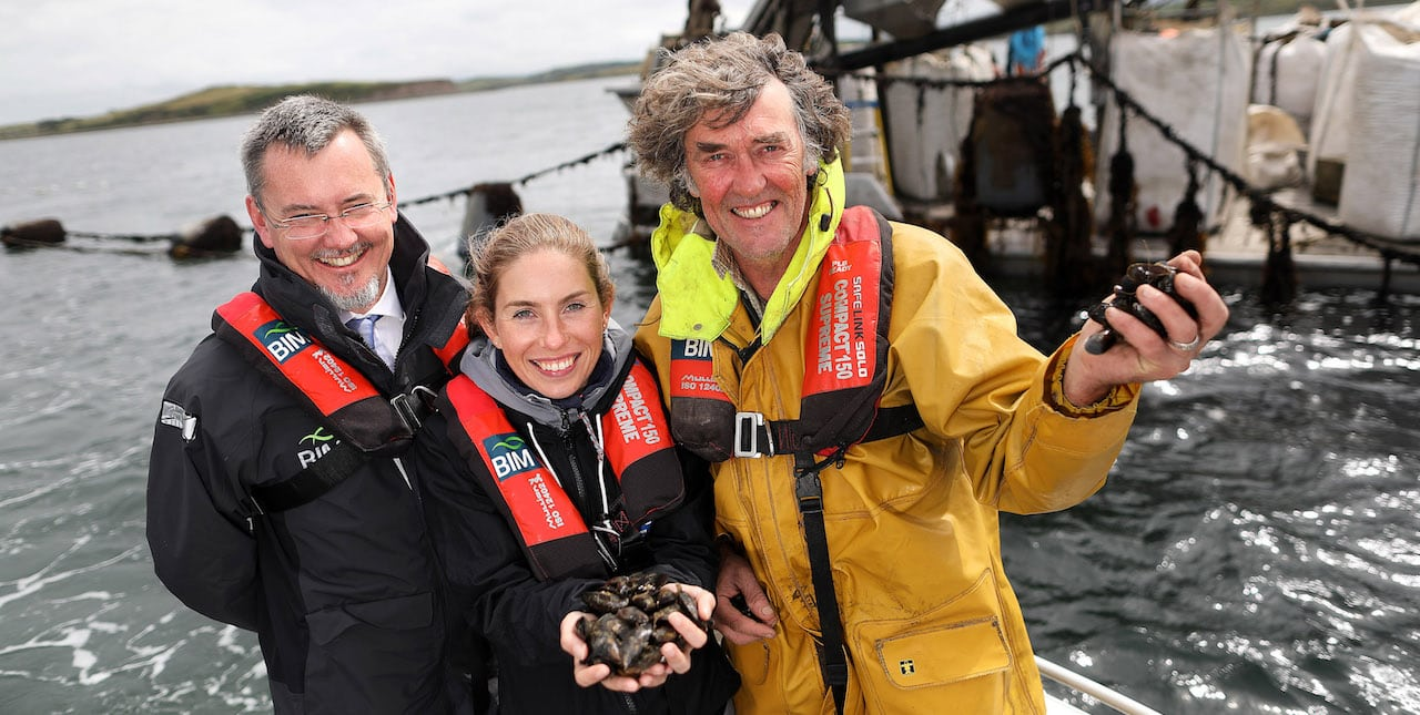 Irish rope-grown mussels get MSC blue label