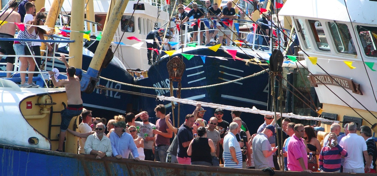 Brixham Trawler Race comes to an end