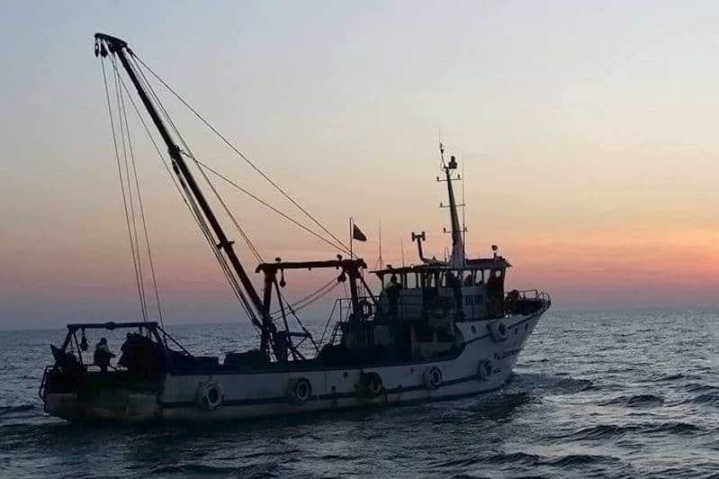 Bulgarian fishermen protest