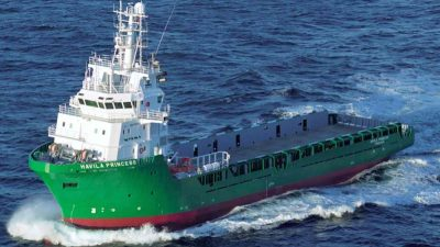 Offshore vessel to become fish farm support