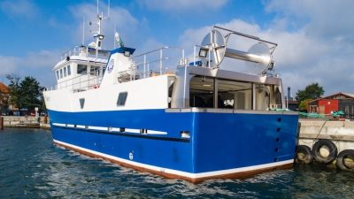 Bredgaard delivers Iceland's largest GRP fishing vessel