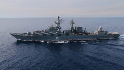 Barents Sea tension