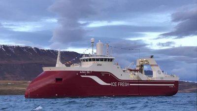 Samherji's Björg delivered to Akureyri