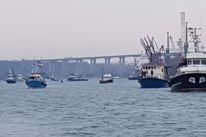 Bulgarian fleet blockades Varna