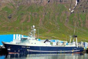Blængur alongside in Norðfjörður after two months in the Barents Sea. Image: SVN/Karl Jóhann Birgisson - @ Fiskerforum