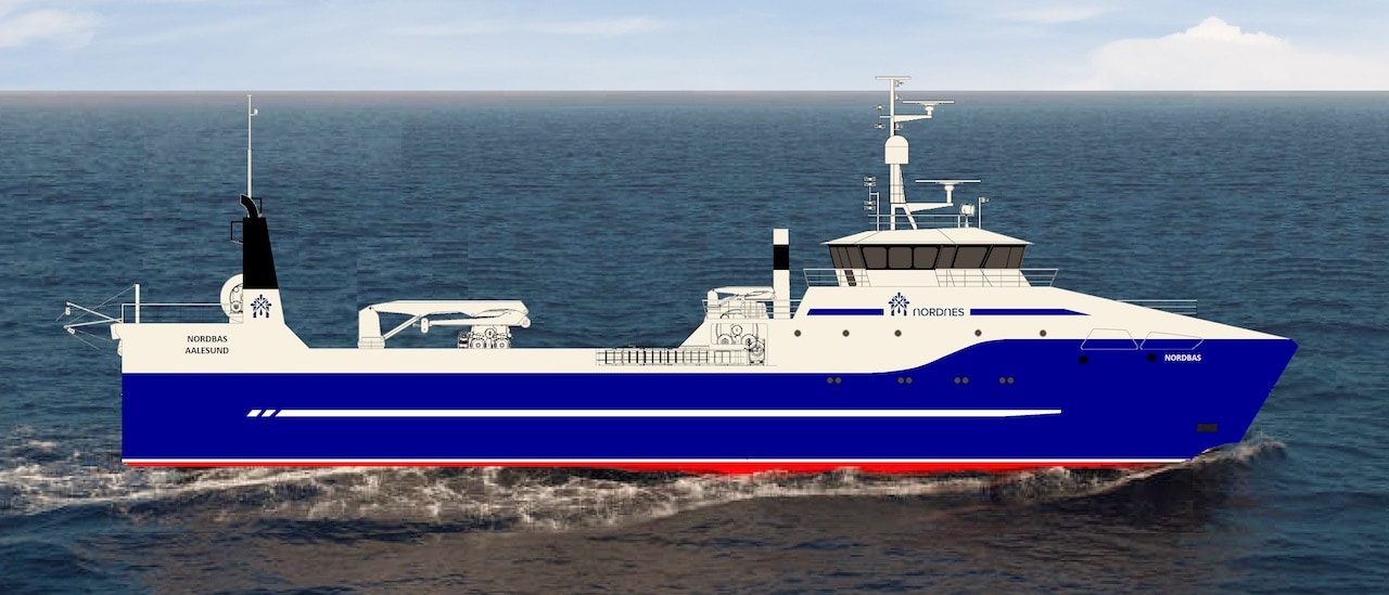 Super-efficient Norwegian trawler