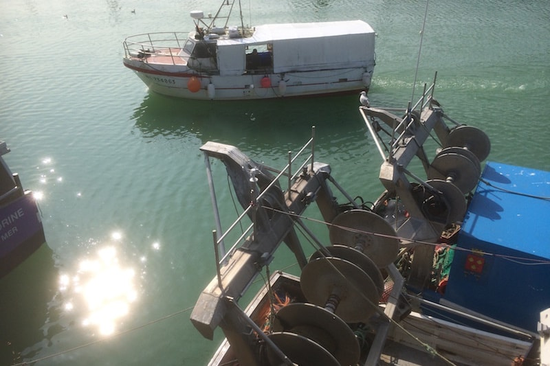 French ports blockaded