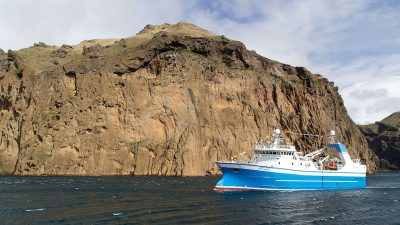 Westmann Islands celebrate new trawler's arrival