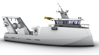 Proposals for revolutionary Australian fishing vessel