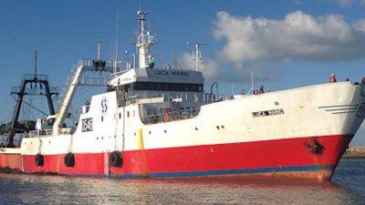 Trawler crew confirmed COVID-19-free