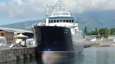 Opening the way for toothfish fleet renewal