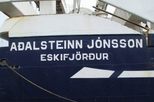Aðalsteinn Jónsson suffered damage and is out of the capelin search - @ Fiskerforum