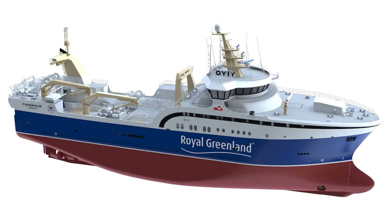 Read more about the article Fourth Carsoe factory deck for Royal Greenland series