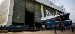 Britisk værft leverer krabbe-båd til Kirkwall