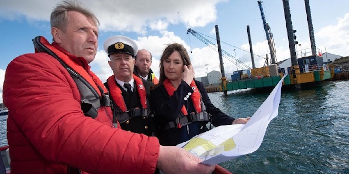 Castletownbere's €23.5m development project, quay space doubled