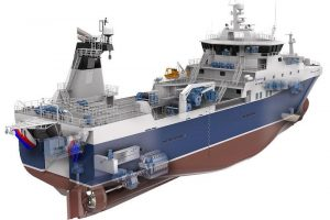 The new French trawler to be built at Kleven - @ Fiskerforum