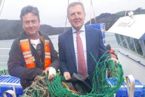 Ireland's Clean Oceans Initiative has been launched by minister Michael Creed. Image: Department of Agriculture
