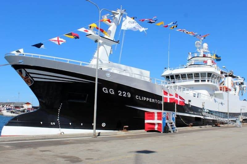Swedish fleet's pelagic flagship