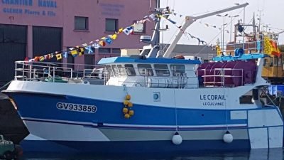 Last of Gléhen trawler trio delivered