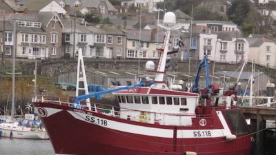New Crystal Sea comes to Newlyn