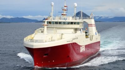 DFFU's Cuxhaven sails for first trip