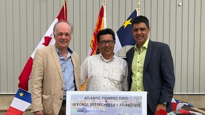 Atlantic Fisheries Fund support to rebuild burned out seafood factory
