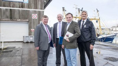 Fisheries Minister hears about plans for Plymouth