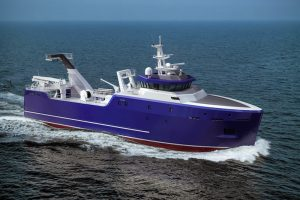 Damen has factory and fresher trawler and longliner options available under its Africa Ship Leasing Fund. Image: Damen Shipyards - @ Fiskerforum